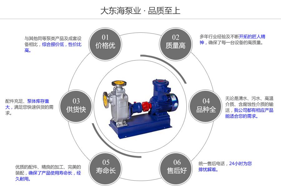 大东海泵业耐腐蚀自吸泵质量保证图