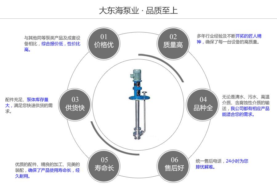 大东海泵业不锈钢液下泵质量保证图